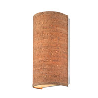 Naturale 2 Light 6 inch Natural Cork Wall Sconce Wall Light