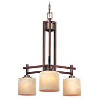 Dolan Designs Roxbury 3 Light Chandelier in English Bronze 2818-133