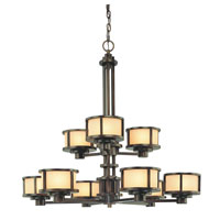 Dolan Designs Bridgetown 9 Light Chandelier in Heirloom Bronze 2892-62