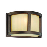 Dolan Designs Bridgetown 1 Light Wall Sconce in Heirloom Bronze 2896-62 photo thumbnail