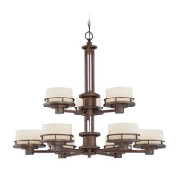 Dolan Designs Beacon 9 Light Chandelier in Classic Bronze 2912-206