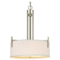 Dolan Designs 2974-09 Tecido 3 Light 18 inch Satin Nickel Pendant Ceiling Light