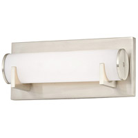 Madison LED 10 inch Satin Nickel Bath Light Wall Light