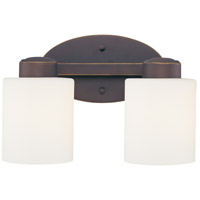 Dolan Designs 3432-78 Brookings 2 Light 12 inch Bolivian Bronze Bath Vanity Wall Light