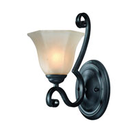 Dolan Designs Winston 1 Light Wall Sconce in Olde World Iron 4771-34
