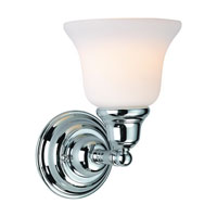 Dolan Designs Brockport 1 Light Wall Sconce in Chrome 491-26