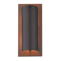 Tahoe 2 Light 7 inch Natural Slate/Olde World Iron ADA Wall Sconce Wall Light