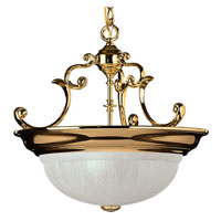 Richland 3 Light 17 inch Polished Brass Pendant Ceiling Light