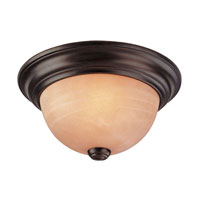 Dolan Designs Medici 1 Light Flushmount in English Bronze 5331-133