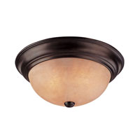 Dolan Designs Medici 2 Light Flushmount in English Bronze 5332-133
