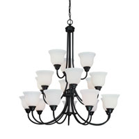 Dolan Designs Willow Point 18 Light Chandelier in Olde World Iron 541-34