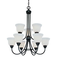 Dolan Designs Willow Point 9 Light Chandelier in Olde World Iron 542-34 photo thumbnail
