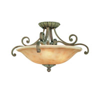 Windsor 3 Light 24 inch Sante Fe Flushmount Ceiling Light