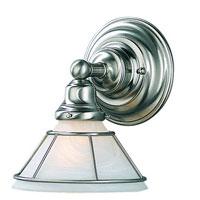 Dolan Designs 629-09 Craftsman 1 Light 7 inch Satin Nickel Wall Sconce Wall Light