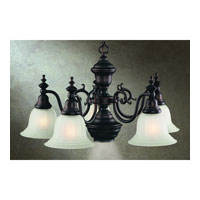 Richland 6 Light 26 inch Royal Bronze Chandelier Ceiling Light in Alabaster