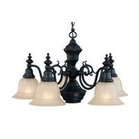 Richland 6 Light 26 inch Bolivian Chandelier Ceiling Light in Carmelized