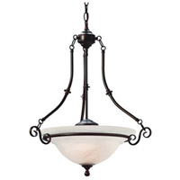 Dolan Designs Arago 3 Light Pendant in Royal Bronze 670-30