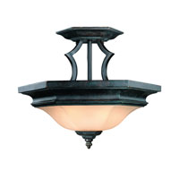 Dolan Designs Winston 2 Light Semi-Flush Mount in Olde World Iron 778-34