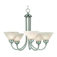 Dolan Designs Vinton 5 Light Chandelier in Satin Nickel 810-09