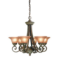 Dolan Designs Windsor 6 Light Chandelier in Sante Fe 820-38 photo thumbnail