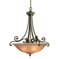 Windsor 3 Light 28 inch Sante Fe Pendant Ceiling Light