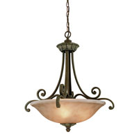Windsor 3 Light 24 inch Sante Fe Pendant Ceiling Light