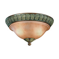 Dolan Designs Windsor 2 Light Flushmount in Sante Fe 824-38 photo thumbnail