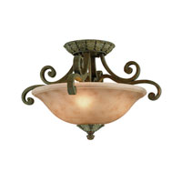 Dolan Designs Windsor 3 Light Semi-Flush Mount in Sante Fe 825-38