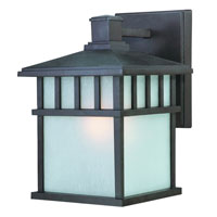 Barton 1 Light 11 inch Olde World Iron Exterior Wall Lantern in White Linen