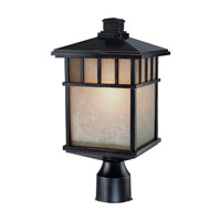 Barton 1 Light 17 inch Winchester Exterior Post Lantern in Arizona