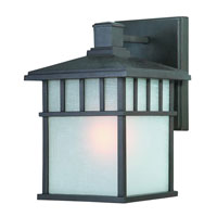 Barton 1 Light 20 inch Olde World Iron Exterior Wall Lantern in White Linen