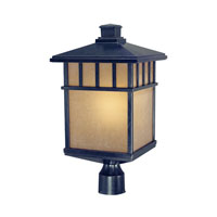 Barton 1 Light 21 inch Winchester Exterior Post Lantern in Arizona