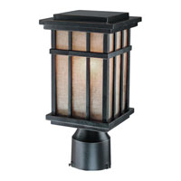 Freeport 1 Light 12 inch Winchester Exterior Post Lantern