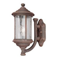 Dolan Designs Walnut Grove 1 Light Exterior Wall Lantern in Rustique 915-53