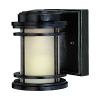 La Mirage 1 Light 6 inch Winchester Exterior Wall Lantern