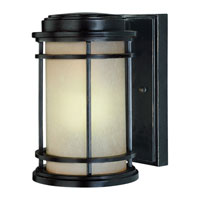 La Mirage 1 Light 9 inch Winchester Exterior Wall Lantern