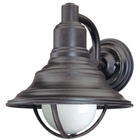 Dolan Designs Bayside 1 Light Exterior Wall Lantern in Winchester 9285-68