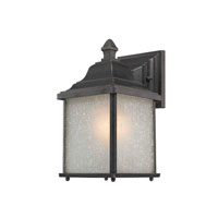 Charleston 1 Light 11 inch Winchester Outdoor Wall in White Linen