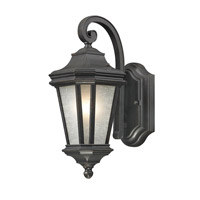 Lakeview 1 Light 13 inch Olde World Iron Outdoor Wall