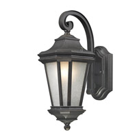 Lakeview 1 Light 15 inch Olde World Iron Outdoor Wall