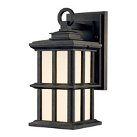 Rockaway 1 Light 12 inch Manchester Outdoor Wall