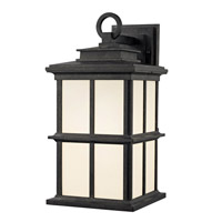 Rockaway 1 Light 17 inch Manchester Outdoor Wall