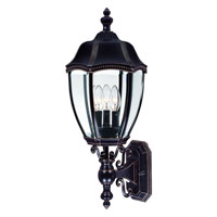 Roseville 3 Light 24 inch Antique Bronze Outdoor Wall
