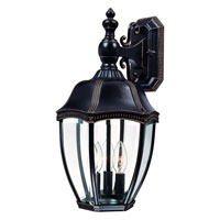 Roseville 3 Light 19 inch Antique Bronze Exterior Wall Lantern