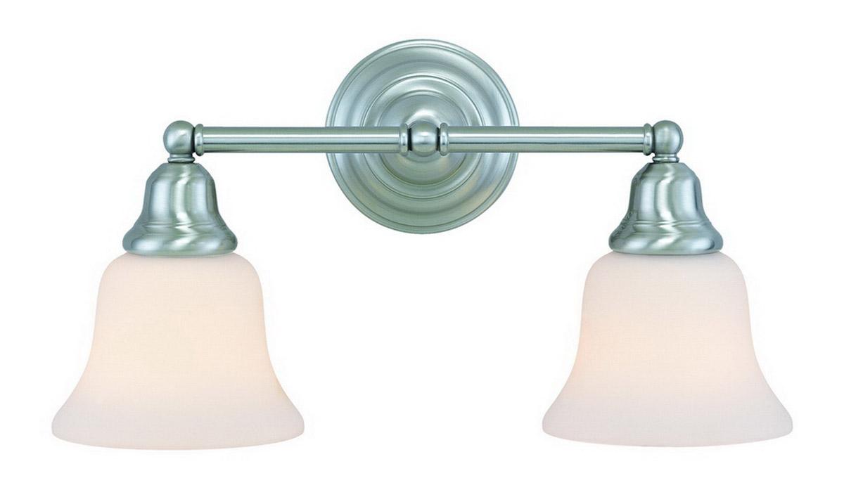 Satin Nickel Ceiling Lights Bathroom Vanity Chandelier: Dolan Designs 492-09 Brockport Bathroom Vanity Light Satin