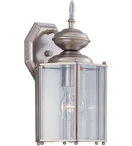 Designers Fountain 1101-PW Signature 1 Light 13 inch Pewter Outdoor Wall Lantern photo