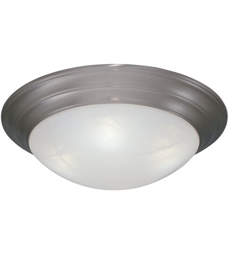 Designers Fountain 1245S-PW Lunar 1 Light 12 inch Pewter Flushmount Ceiling Light photo