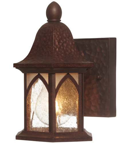 Designers Fountain Berkshire 1 Light Outdoor Wall Lantern in Burnished Antique Copper 20601-BAC photo