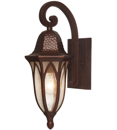 Designers Fountain 20611-BAC Berkshire 1 Light 18 inch Burnished Antique Copper Outdoor Wall Lantern photo