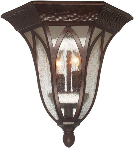 Designers Fountain 20635-BAC Berkshire 2 Light 11 inch Burnished Antique Copper Outdoor Flushmount photo